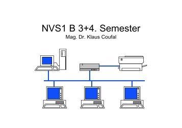 NVS1 B 3+4. Semester