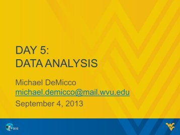 Day 4: Critical Thinking and Data Analysis