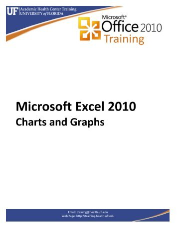 Microsoft Excel 2010 Charts and Graphs - Academic Health Center ...