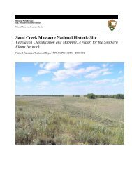Report - NPS Inventory and Monitoring Program - National Park ...