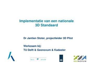 Implementatie van een nationale 3D Standaard