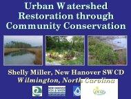 Urban Watershed Restoration through Community Conservation