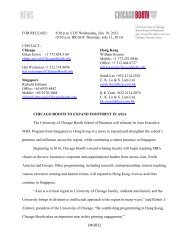 (9:30 am HK/SGT Thursday, July 11, 2013) CONTACT: Chicago ...