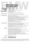 BMW Serie 3 Sedán. Automática de 8 velocidades con palanca ... - Page 2