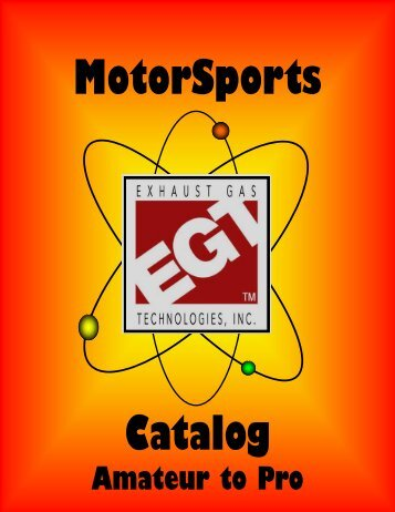 Motorsports Catalog for Website - Exhaust Gas Technologies Inc.