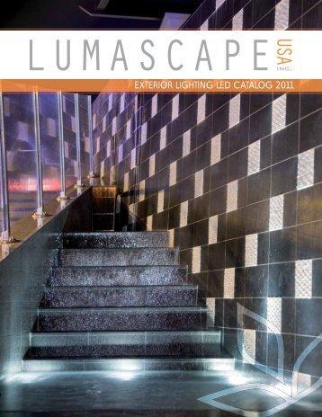 EXTERIOR LIGHTING LED CATALOG 2011 - Lumascape