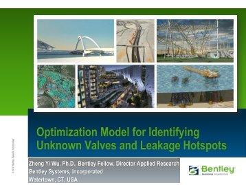 Optimization Model for Identifying Unknown ... - Iwa-waterloss.org