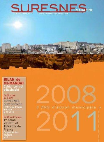 Suresnes Magazine - Mars 2011