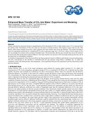 SPE International Symposium & Exhibition on ... - Geo-Engineering