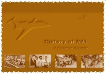 History of NAL - National Aerospace Laboratories