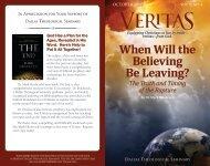 Veritas October 2012 - Dallas Theological Seminary