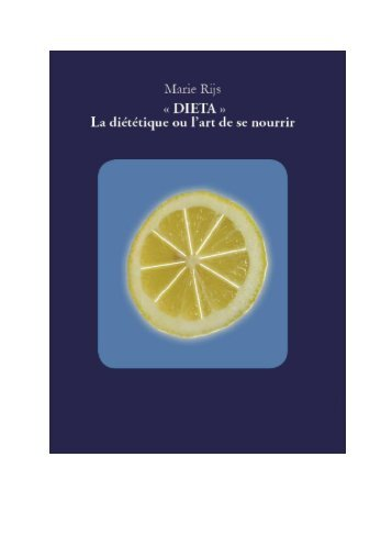 Nom : DIETA MARIE RIJS EDITION 201307 - IDES et Autres