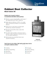 Cabinet Dust Collector - odms.net.au