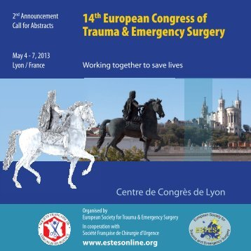 14th European Congress of Trauma & Emergency Surgery