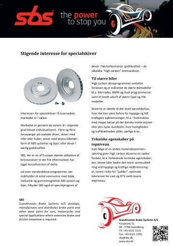 Printvenlig version - Scandinavian Brake Systems A/S