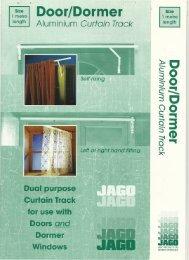 Door/Dormer Track - Curtain Poles