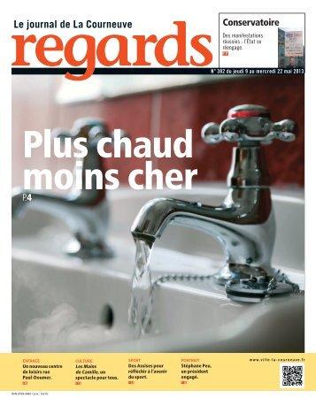 REGARDS N° 382 du jeudi 9 au mercredi 22 mai 2013 - Courneuve
