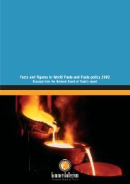 Facts and Figures in World Trade and Trade policy 2002