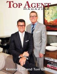Kennon Earl and Tom Davila - Top Agent Magazine