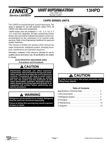 13hpd series hvac repair parts?quality=85 typical schematic wiring Basic Electrical Wiring Diagrams at edmiracle.co
