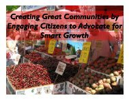 Creating Great Communities by Engaging Citizens to Advocate for ...