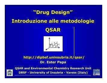 Drug Design - Università dell'Insubria