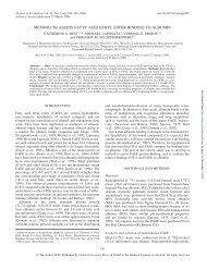 method to assess fatty acid ethyl ester binding to albumin