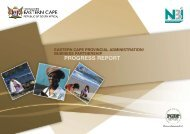 Eastern Cape Provincial Administration Business Partnership ...