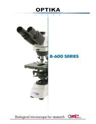 The Microscope Depot - B-600 - OPTIKA