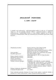 343441-posudek, 125 ex 473-06.pdf - Exekutorský úřad Český ...