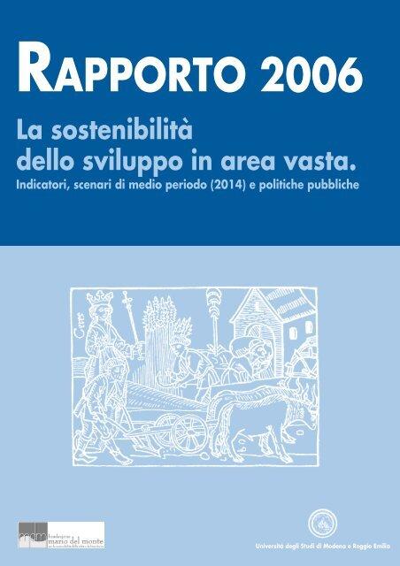 Rapporto 2006.indd - Centro di analisi delle politiche pubbliche ...