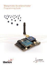 Waspmote Accelerometer - Libelium