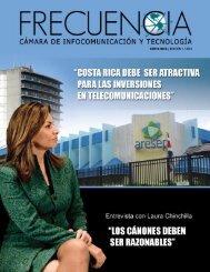 Revista Frecuencia de la Cámara de Infocomunicación y ... - Amcham