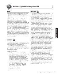 2.4 Factoring Quadratic Expressions - Mona Shores Blogs