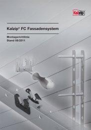 Kalzip® FC Fassadensystem