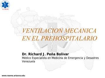 Ventilación Mecánica en el Prehospitalario - Reeme.arizona.edu
