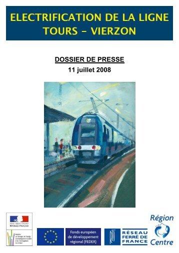 Electrification de la ligne Tours-Vierzon - RFF