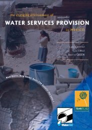 The changing environment of water service provision in ... - WaterAid