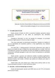 6a Carta de Conjuntura PUC Abril 2012x