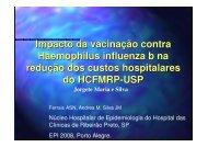 Impacto da vacinação contra Haemophilus influenza b na ... - Epi2008