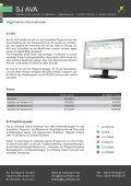 SJ AVA - SJ Software GmbH - Seite 7