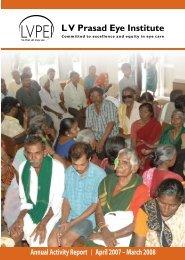2007-08 - LV Prasad Eye Institute