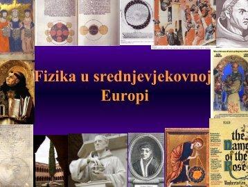 Fizika u Europi u srednjem vijeku