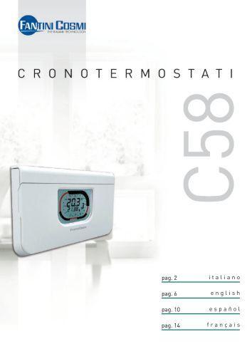 Intellitherm c31 fantini cosmi for Fantini c57