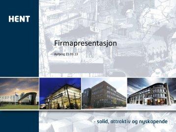 Firmapresentasjon - Innovation X
