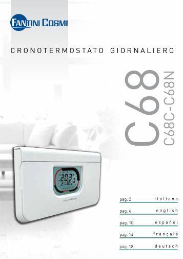 Istruzioni c55 fantini cosmi for Fantini cosmi c55