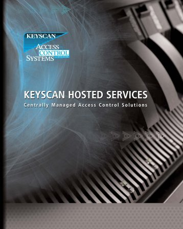 Keyscan Hosted Services Brochure