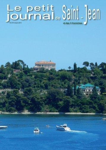 août 2011 - Saint Jean Cap Ferrat