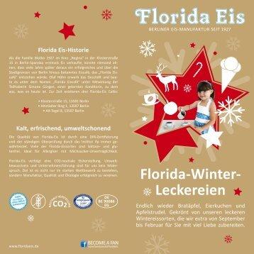 Florida-Winter- Leckereien - Florida-Eis