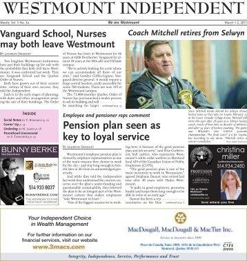 Westmount Independent, March 1